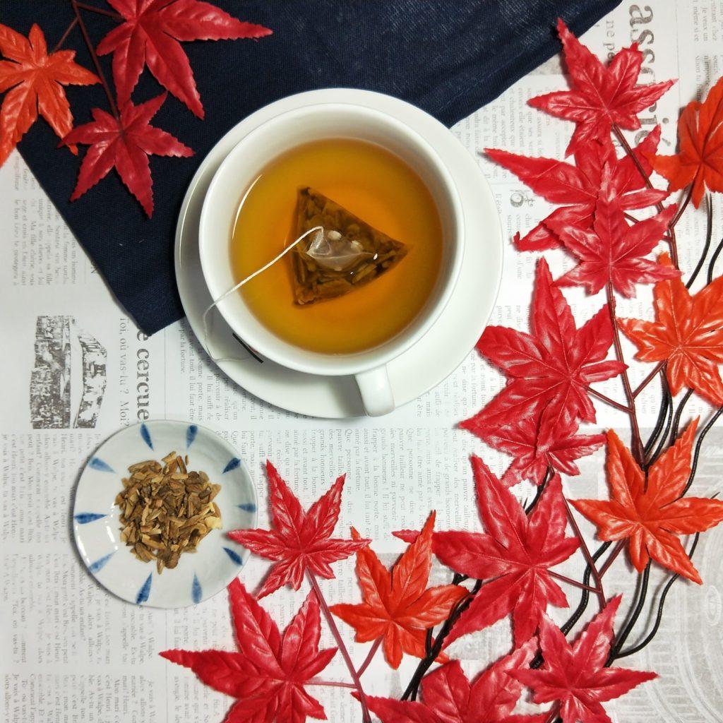 端午節喝牛蒡茶