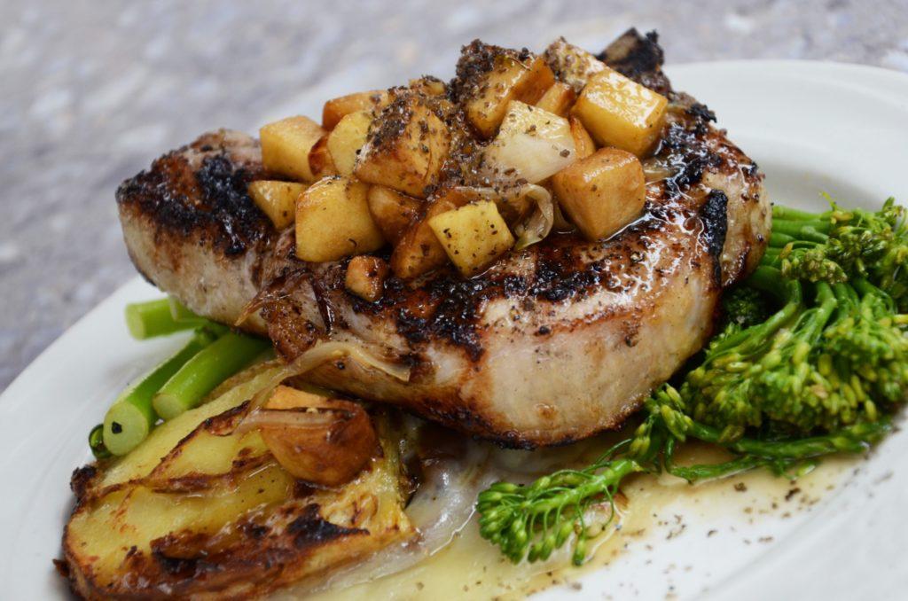 健康飲食生銅肉