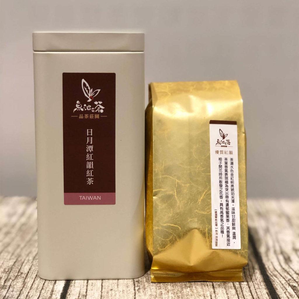 茶葉推薦 日月潭紅韻紅茶