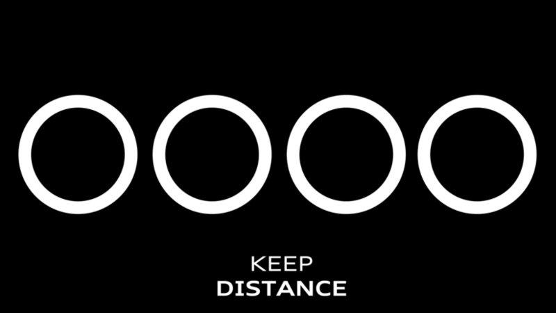 logo 社交距離 10